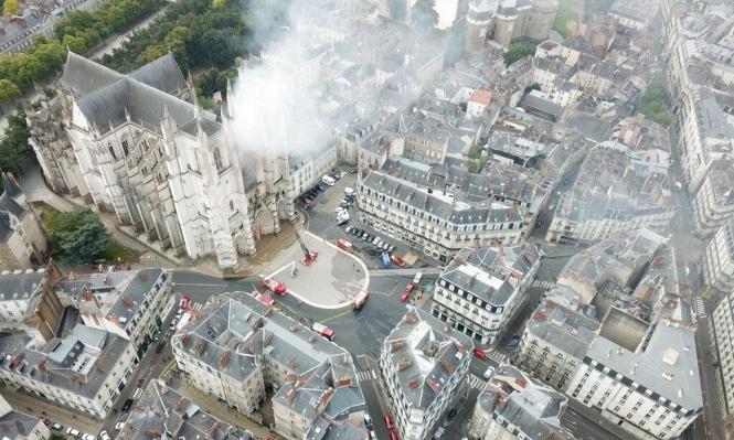 إطلاق سراح المشتبه بحرق كاتدرائية نانت