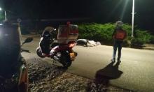 إصابة خطيرة لسائق دراجة نارية قرب الخضيرة