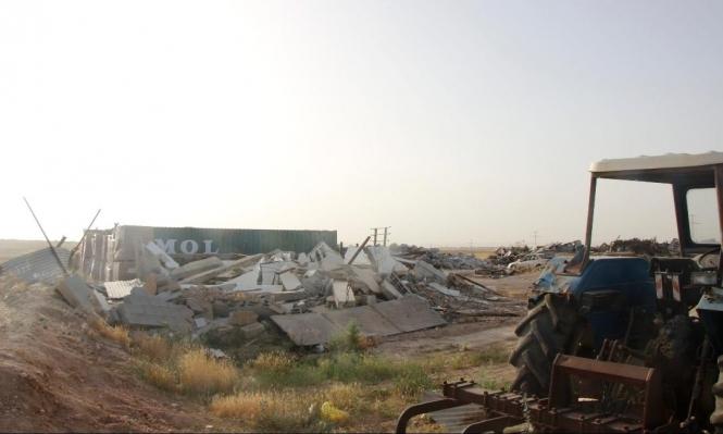 2241 منزلا عربيًا هدمت في النقب عام 2019