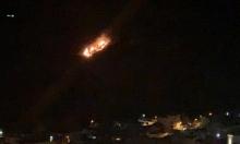 مروحيّات إسرائيليّة تقصف مواقع عسكرية للنظام السوري وإصابة عُنصري أمن
