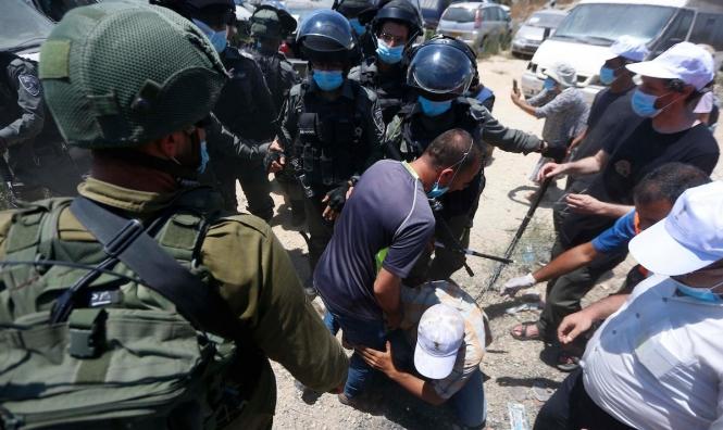 إصابات إثرقمع قوات الاحتلال لمسيرة كفر قدوم