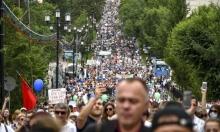 """تظاهرات حاشدة شرقي روسيا ضد بوتين.. دفاعًا عن """"مشتبه بالقتل"""""""