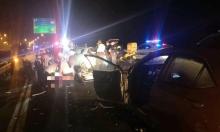مصرع امرأة في حادث طرق على شارع 6
