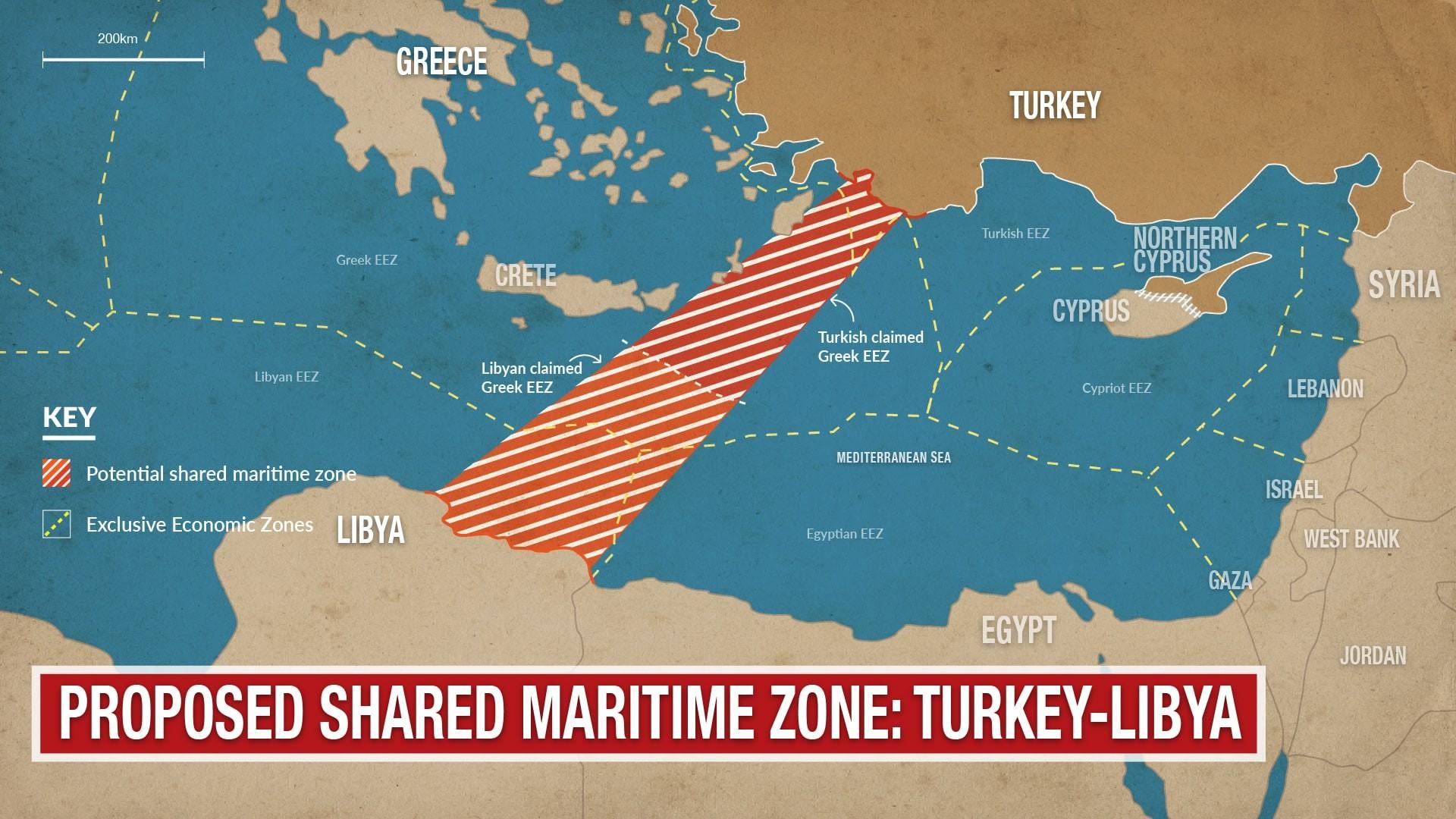 هكذا غيرت الاتفاقية التركية الليبيّة خريطة المياه في المتوسط