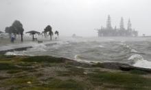 """إعصار """"هانا"""" يضرب تكساس الموبوءة"""