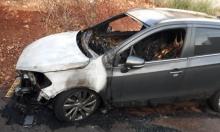 اشتعال النار بسيارة محام وناشط سياسي في سخنين