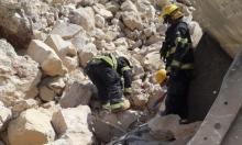 مصرع عامل بانهيار صخري قرب القدس