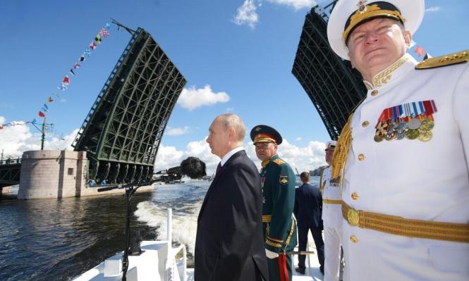 بوتين: البحرية الروسية ستتسلح قريبا بأسلحة نووية هجومية حديثة
