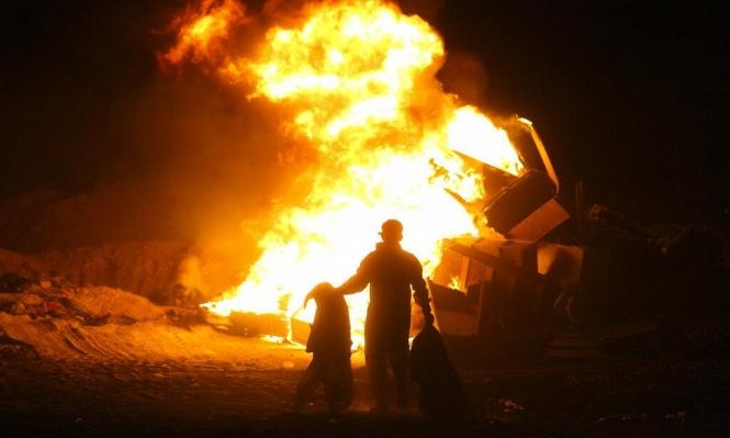 انفجارات في قاعدة صقر العسكرية جنوب بغداد