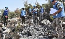 """قوات """"يونيفيل"""" في جبل روس للتحقيق بالمزاعم الإسرائيلية"""