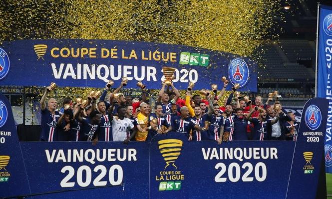 سان جيرمان يُتوَّج بلقب كأس رابطة الأندية الفرنسيّة