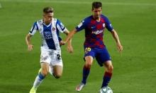 روبيرتو يرد على إمكانية الرحيل عن برشلونة