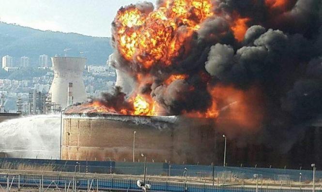 حيفا: هلع من كارثة شبيهة بانفجار مرفأ بيروت