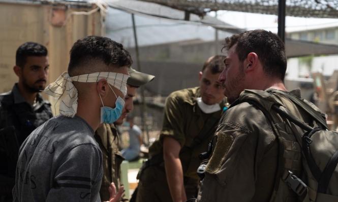 اعتقال 13 فلسطينيا من الضفة والقدس