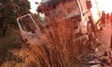مصرع شخص من عرعرة وإصابتان خطيرتان في حادث طرق قرب كفر قرع