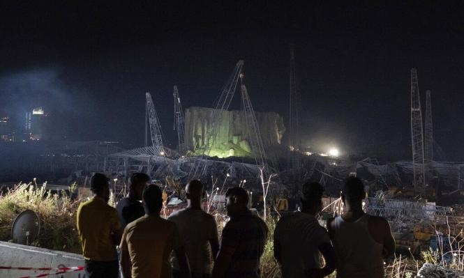 انفجار بيروت: عشرات الإصابات الحرجة وتوقيف مدير المرفأ ومديري الجمارك
