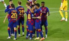 برشلونة يبلغ ربع نهائي دوري الأبطال