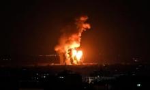 الاحتلال يقصف في غزة