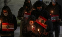 أطفال بيروت ينيرون الشموع