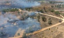 """حصيلة قياسية: 60 حريقا في """"غلاف غزة"""" جراء البالونات الحارقة"""