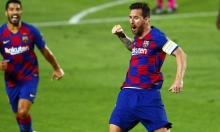 ميسي يخالف قرار مدرب برشلونة!