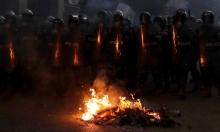 مواجهات في بيروت: 42 مصابا نَقلُ 10 من بينهم للمشافي