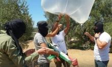 """نتنياهو وغانتس يهددان بتصعيد بسبب """"البالونات الحارقة"""""""