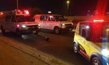 تل السبع: إصابتان إحداهما خطيرة صعقًا بالكهرباء إثر حادث طرق