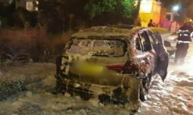 اعتقال مشتبه بإحراق سيارة رئيس بلدية قلنسوة