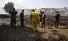 """استمرار إطلاق البالونات الحارقة: 19 حريقا في """"غلاف غزة"""""""