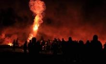 غزة: إصابات برصاص الاحتلال وإطلاق قذائق من القطاع