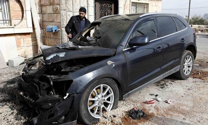 مستوطنون يحرقون 13 مركبة ببيت صفافا واعتقالات بالضفة
