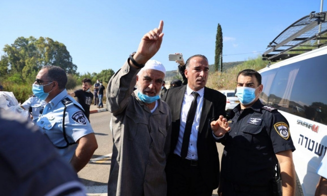 نقل الشيخ رائد صلاح من سجن الجملة إلى العزل الانفرادي بسجن عسقلان