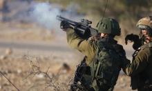 الاحتلال يقمع وقفة احتجاجية ضد تجريف الأراضي في طولكرم