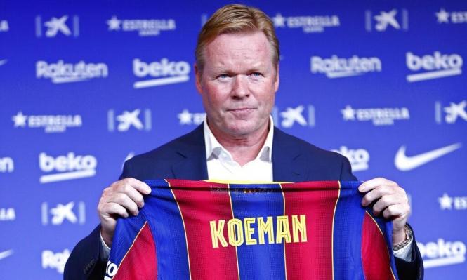 كومان: ميسي الأفضل في العالم وأريد استمراره مع برشلونة