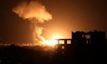 قصف في غزة وإصابات قرب رام الله