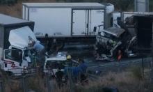 5 إصابات في حادث طرق قرب الرامة