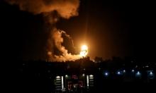 """الاحتلال يجدد قصفه مواقع لـ""""حماس"""" في غزّة"""