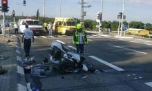 مصرع سائق دراجة نارية بحادث طرق قرب كابول