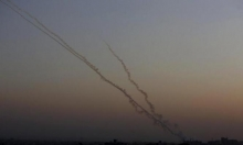 جيش الاحتلال يزعم اعتراضه لقذيفة أُطلِقت من غزة