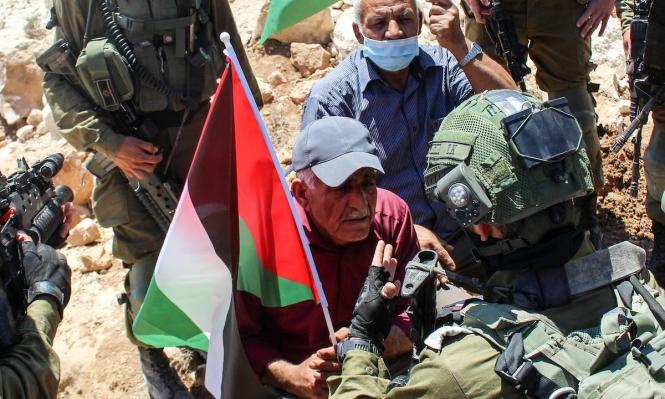 إصابة شابين إثر تفريق جيش الاحتلال لمسيرات فيالضفةالغربية