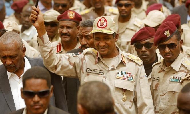 تقرير: رئيس الموساد التقى السوداني حمديتي في الإمارات