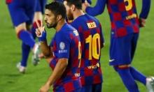 سواريز يرد على إمكانية مغادرة برشلونة!