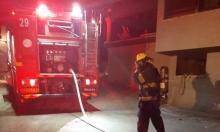 أم الفحم: اندلاع حريق في منزل مأهول