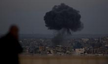 قطاع غزة: طيران ومدفعية الاحتلال تقصف مواقع لحماس