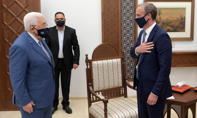 """اشتية: مستعدون لعملية سلام """"جدية""""؛ عباس: التطبيع لن يحقق السلام"""