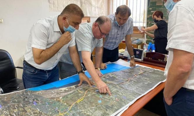 """جديدة المكر: مطالبة بتغيير مسار شارع """"6"""" للحفاظ علىأراضي أهالي البلدة"""