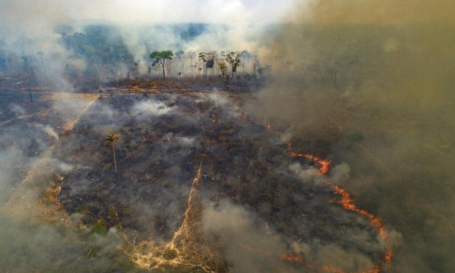 البرازيل: حرائق الأمازون تسمم الهواء وتفاقم أزمة التنفس