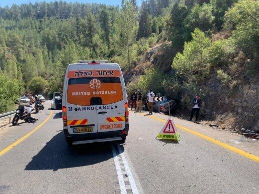 مصرع سائق دراجة نارية في حادث طرق قرب القدس
