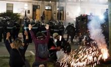 الاحتجاجات ضد العنصرية تصل إلى واشنطن